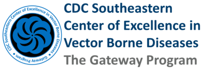 CDC Southeastern Center of Excellence in Vector Borne Diseases Logo