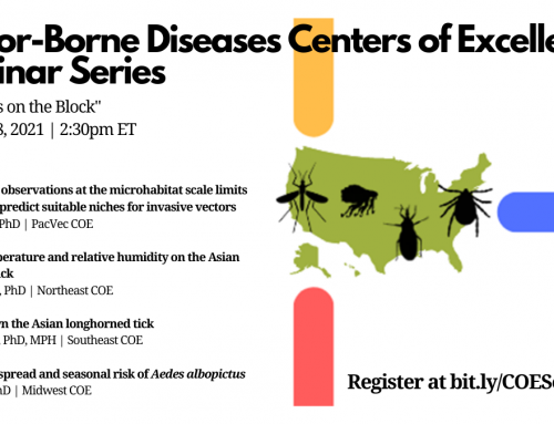 Vector-Borne Diseases Centers of Excellence Seminar Series